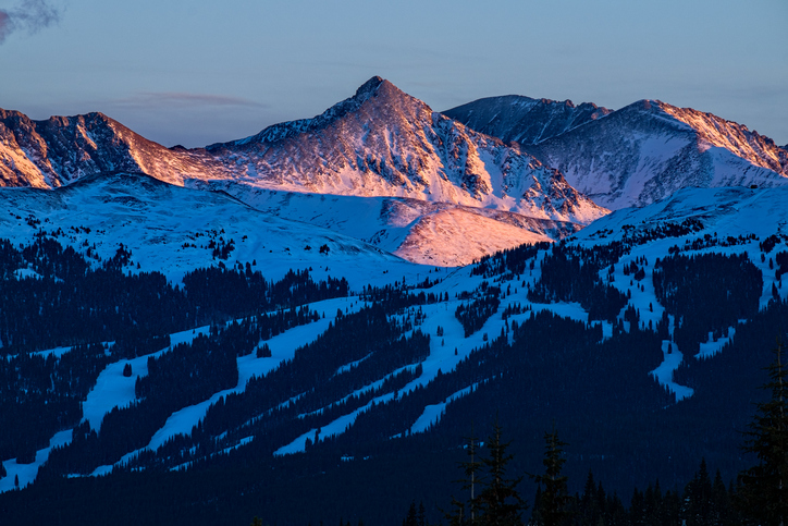 Copper Mountain Sunset