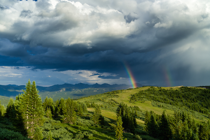 Copper mountain Rainbow