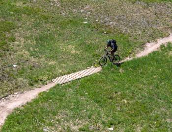 cross country biking