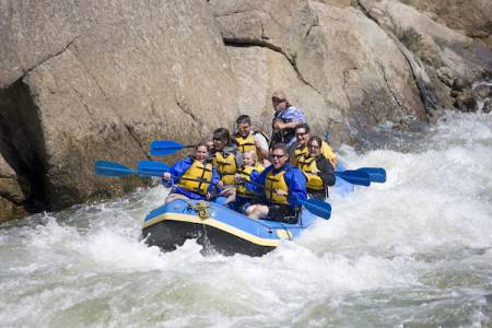 Copper Mountain Whitewater Rafting