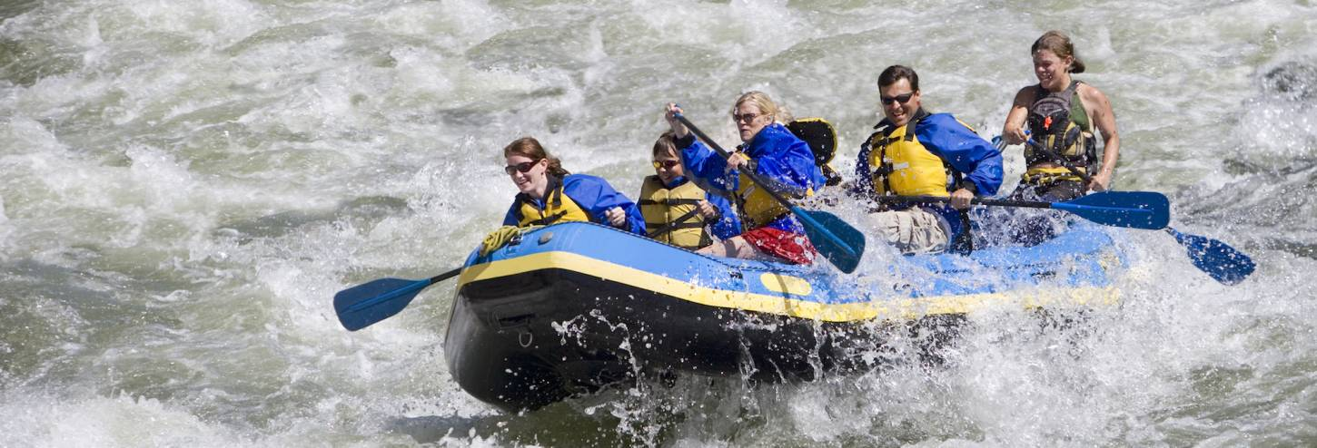 Copper Whitewater Rafting