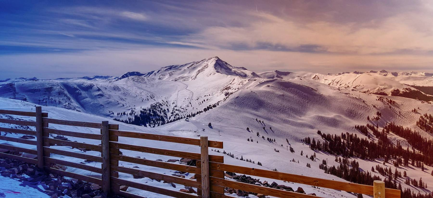Copper Mountain, Copper Bowl and Union Bowl