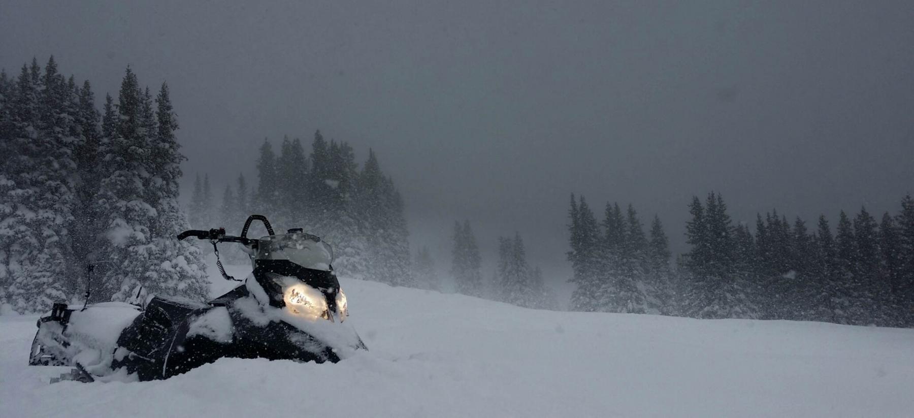 Snowy Vail Pass