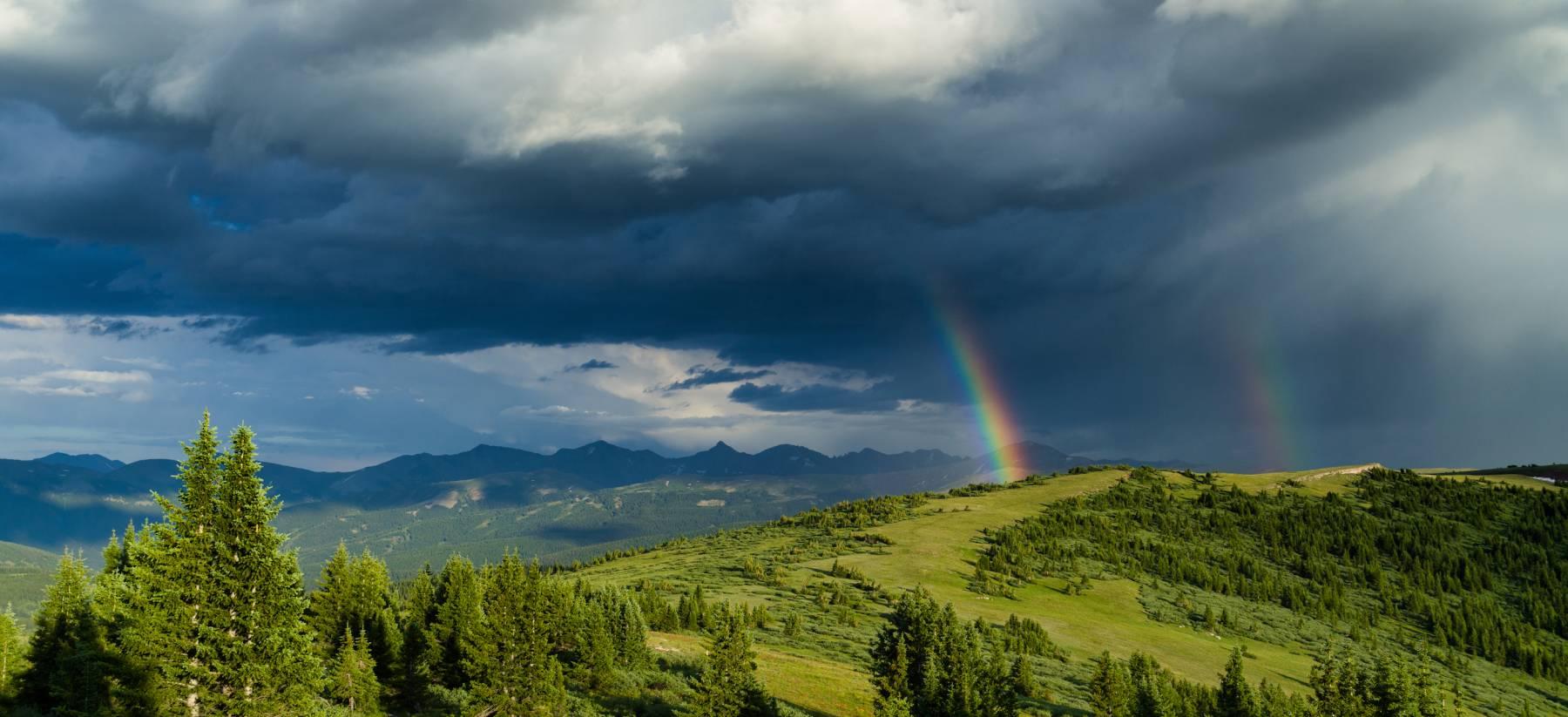 Copper Mountain Summer Rainbow