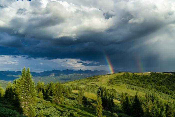 Copper mountain Rainbow
