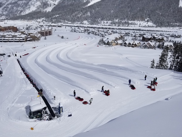 Copper Mountain Snow Tubing