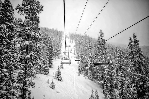 Copper Mountain Powder Day