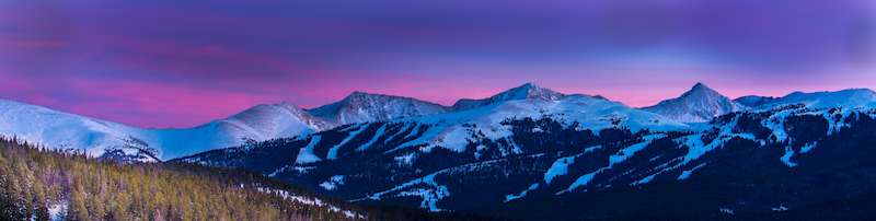 Sunset Copper Mountain