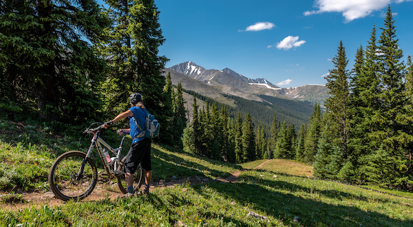 Mountain Biking near Copper Mountain